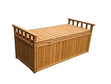 Pleasant Outdoor Specials Wood Garden 2 Seater Storage Bench Amazon Gamerscity Chair Design For Home Gamerscityorg