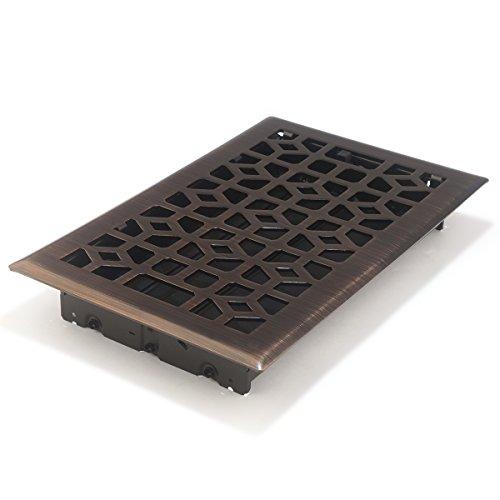 10 Dark Bronze Floor Register - 1