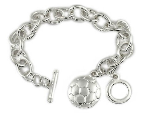 Soccer Bracelet: #1 Top Selling Gift for Soccer Player, Coach and Team. Why Purchase Another Trophy?