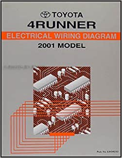 2001 Toyota 4Runner Wiring Diagram Manual Original: Toyota: Amazon.com:  BooksAmazon.com
