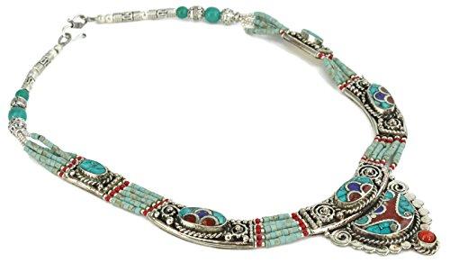 Onyx Arrow Southwestern Turquoise Necklace product image