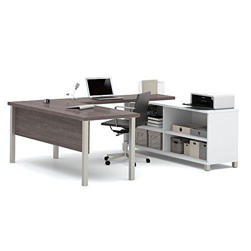 Pro Linea U-Desk with Open Storage - 71.1