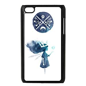 iPod Touch 4 Case Black Child of Light Iaiuo