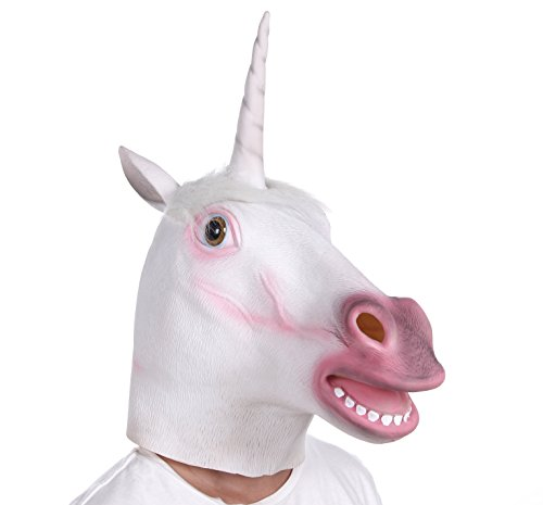 Pokey Costume - Kamisco Unicorn Head Mask Amazon