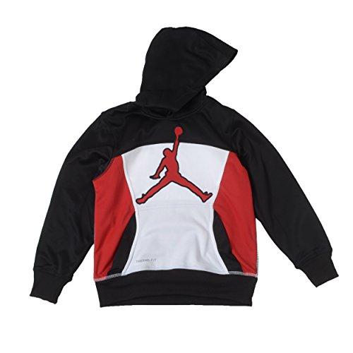Jordan Therma-Fit Hoodie (XL, Black/White/Red) ()