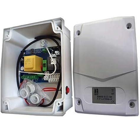 Cuadro de maniobra para persiana de tienda o local comercial con pulsador ALLMATIC AM900ECO PUL: Amazon.es: Bricolaje y herramientas