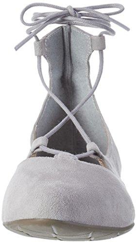 Tamaris Dames 24200 Gesloten Ballerina Grijs (lt. Grijs Suède 231)