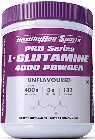 Glutamine Powder, Muscle Growth and Recovery – 400g