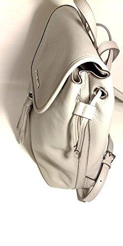MICHAEL KORS Bolsos mochila Bedford Pearl Gris 30x30x14cm new