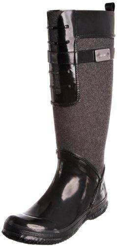 Amazon.com | Nine West Women's Brunelda Boot, Black/Dark Grey, 6.5 ...