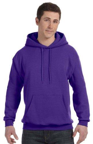 Adult Comfortblend Hooded Pullover - Hanes Adult Comfortblend Ecosmart Hooded Pullover, Style #P170, L, Purple
