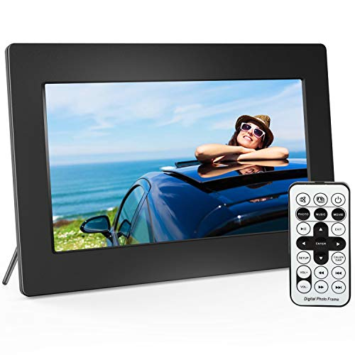 Digital Picture Frame 10 Inch Widescreen - 1280 x 800 IPS Hi-Res Digital Photo & HD Video Frame with Video Player, MP3, Calendar, Zoom in, Create Slideshows with Remote Control by Pipishell (Image #9)