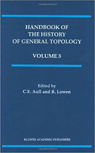 Handbook of the History of General Topology (History of