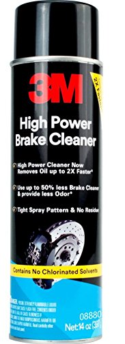 3M 08880 12 Pack 14 oz. High Power Brake Cleaner