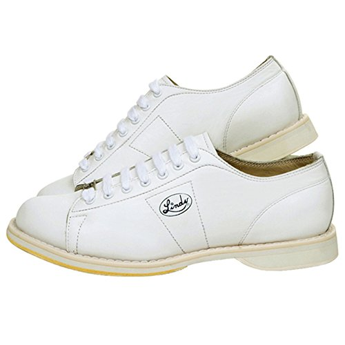 Linds Classic White Right Hand Mens Bowling Shoes - Size 11