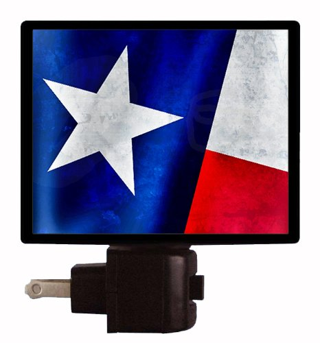 Texas Flag Night Light - City Texas In Outlets