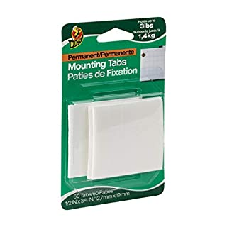 """Duck Brand 297472 Permanent Double Sided Foam Mounting Tab, 3/4"""" Length x 1/2"""" Width (B000BQL2HS)   Amazon price tracker / tracking, Amazon price history charts, Amazon price watches, Amazon price drop alerts"""