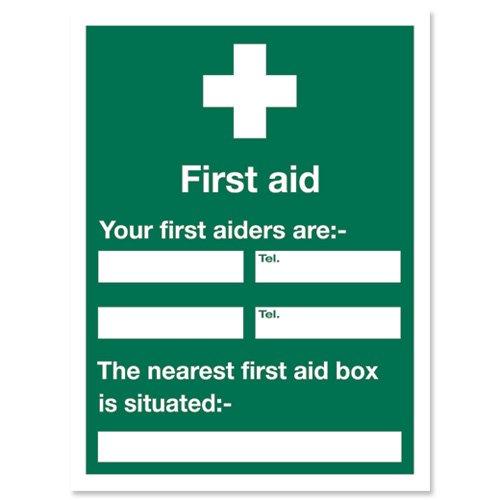 Stewart superior sign first aid sign w450xh600mm self adhesive vinyl stewart superior sign first aid sign w450xh600mm self adhesive vinyl ref ks008sav ks008sav amazon diy tools maxwellsz