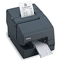 Epson C31CB25024 TM-H6000IV Multifunction Printer MICREndorsement Serial and USB No PS180 - Color Dark Gray