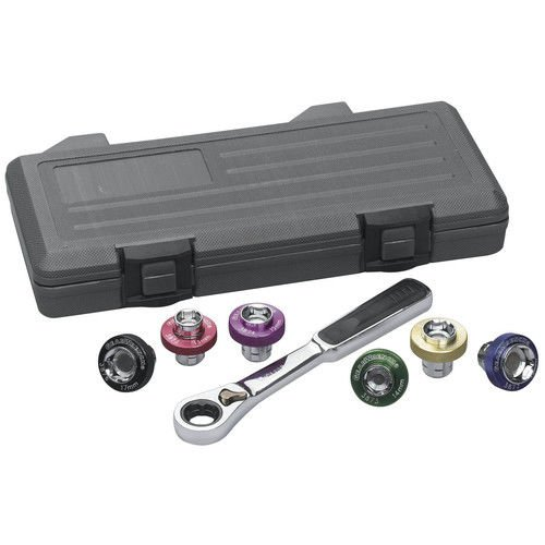 GearWrench 3870D Oil Drain Plug Socket 7 Piece Complete set - (Magnetic Oil Drain Plug Socket)
