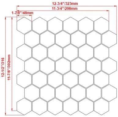 Jade Green Onyx Hexagon Mosaic Tile Sample