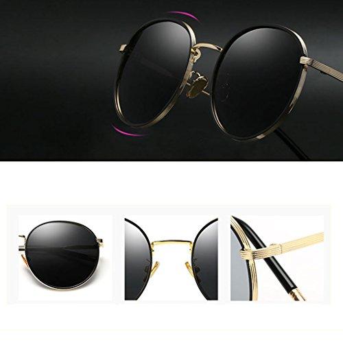de Sol Femeninas DT 1 Delgadas Gafas Coreanas polarizadas Gafas Color Gafas Sol de W6qnnZFX