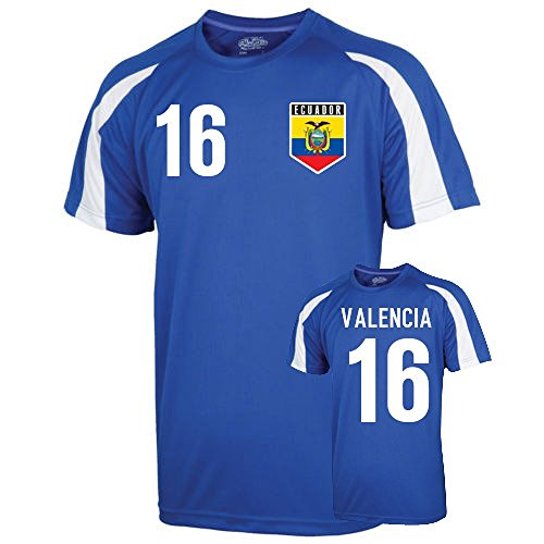 UKSoccershop Ecuador Sports Training Jersey (valencia for sale  Delivered anywhere in USA