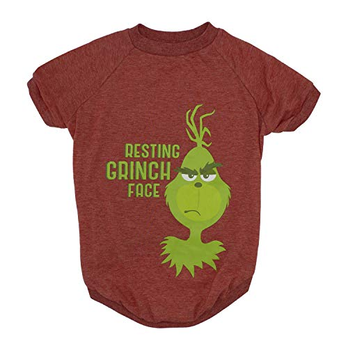 "Grinch for Pets ""Resting Grinch Face"" Dog T-Shirt 