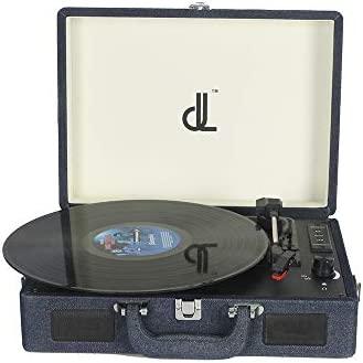 Tocadiscos, dl Turntable 3speed Portable Suitcase Altavoz ...