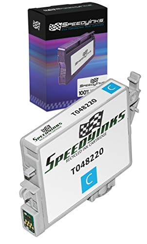 Speedy Inks Remanufactured Ink Cartridge Replacement for Epson 48 (Cyan)