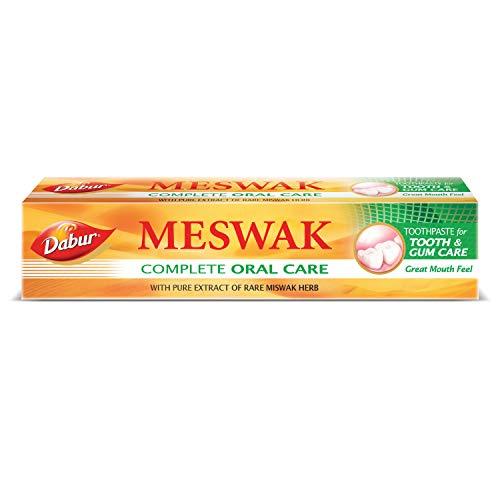 Dabur Meswak: India's No-1 Fluoride Free Toothpaste with Antibacterial, Anti Inflammatory & Astringent benefits  Helps…