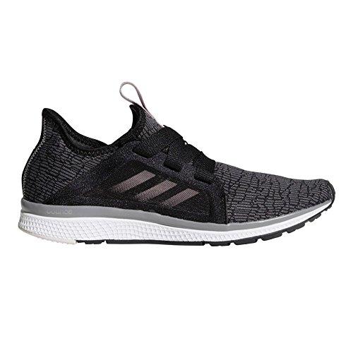 adidas Performance Women's Edge Lux Running Shoe, Black/Vapour Grey Metallic/Orchid Tint, 10.5 M US
