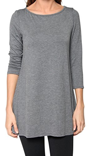 Free to Live Flowy Elbow Tunic