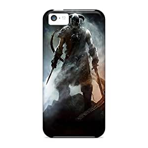 Iphone 5c BxK599QKyg Provide Private Custom High Resolution Skyrim Image Scratch Resistant Hard Cell-phone Case -LauraFuchs