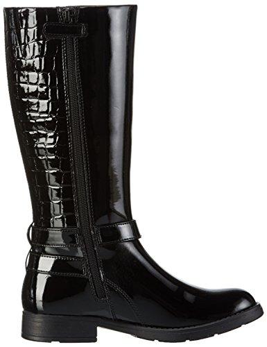 'Jr High Sofia B Blackc9999 Schwarz Boots Girls Geox gz5qRAA