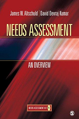 Download Needs Assessment: An Overview  (Book 1) Pdf