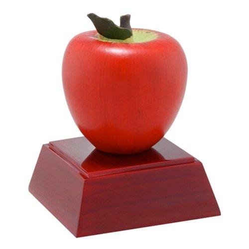 - Apple Trophy 3 Lines Custom Text