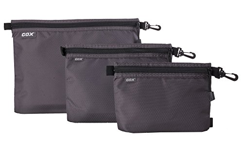 NKTM Packing Bags for Travel Packing Pouches Set of 3 Travel Accessories Organizer ()