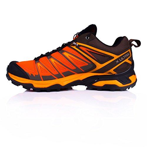 Salomon Herren X Ultra 3 Laufschuhe Orange