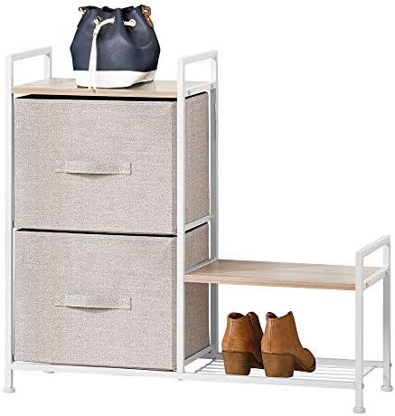mDesign Dresser Storage Tower