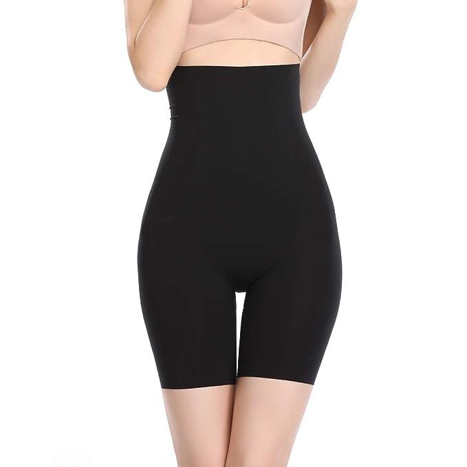 1c81e636698 Joyshaper High Waist Thigh Slimmer Shapewear for Women Slimming Tummy  Control Butt Lifter Shaping Panties Body Shaper Seamless Underwear   Amazon.co.uk  ...
