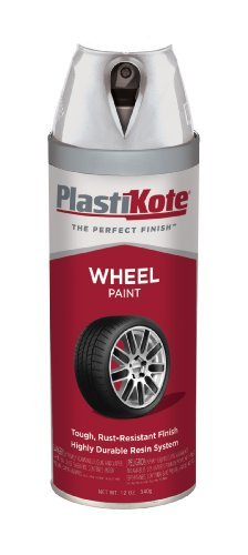 (PlastiKote 618 Steel Wheel Paint - 12 Oz. by PlastiKote)