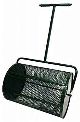 "Peak Seasons 25A 18"" X 24"" Green Compost Spreader"