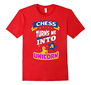 Chess Turns Me Into a Unicorn - Cool Chess Gift T-Shirt