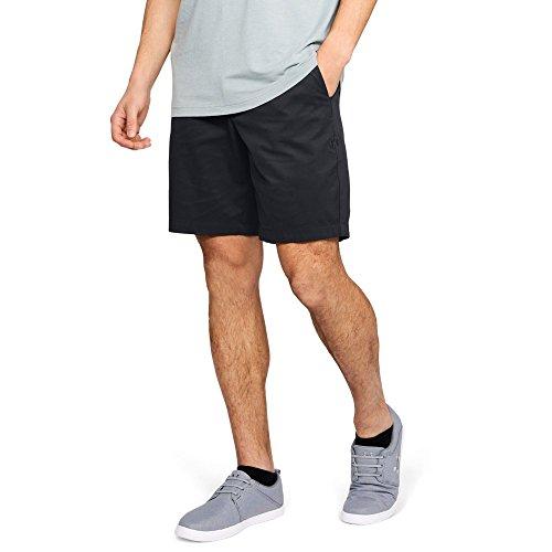 Under Armour Men's Showdown Chino Shorts, Black (001)/Black, 32