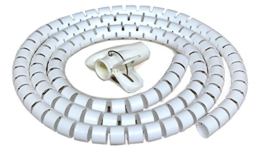 cable-sleeve-cable-pipe-cable-management-with-thread-guide-for-pc-tv-home-theater-white-3m16mm