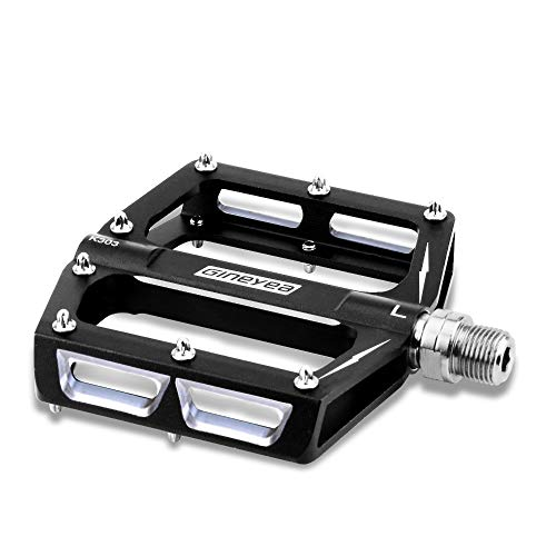 (Cycorld Mountain Bike Pedals, MTB Biking Cycling Pedals with Cleats for BMX Road MTB Bicycle - 9/16