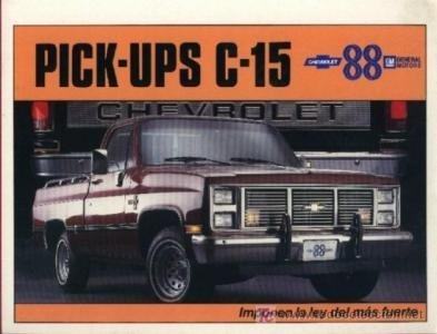 1988 CHEVROLET PICK-UPS C-15