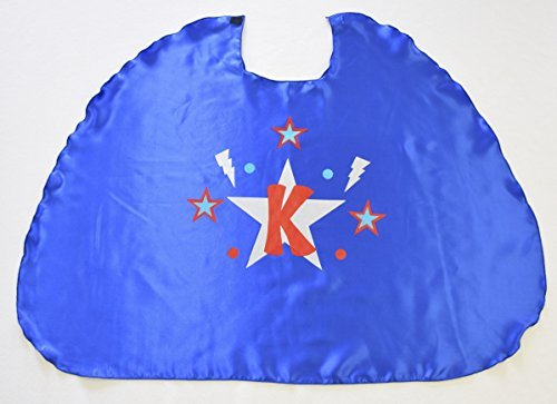 [Superfly Kids Design Your Own Cape Kit, Blue, Blue] (Make Your Own Superhero Costume Kit)