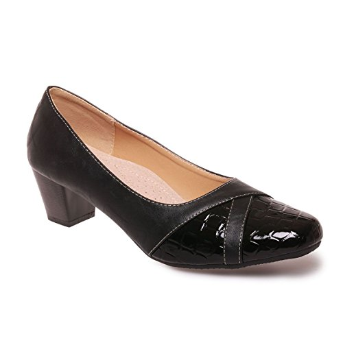 Zapatos Mujer Negro Material De Modeuse Sintético Vestir La 8nvpqa5Ywn